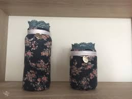 Used Home Decor Recycling Glass Jars Into Home Decor My Sweet Things