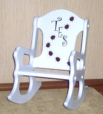 Personalized Kid Chair Personalized Baby Rocking Chair Design Home U0026 Interior Design
