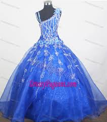 glitz pageant dresses asymmetrical blue organza glitz pageant dress with flowers