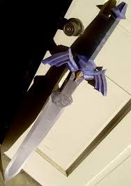 Master Sword Papercraft - master sword papercraft by skeleman on deviantart