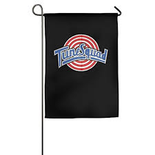 christian products space jam tune squad logo garden sports flag new style christian