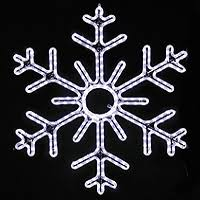 snowflake lighted outdoor decorations yard displays