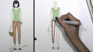 how to draw clothes for beginners fashion designing loose summer
