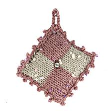 simply elegant ornaments u0026 gift toppers knit and crochet pattern