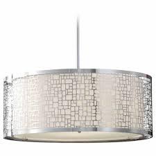 Drum Shade Ceiling Light Fixtures Best Drum Pendant Lighting Colour Story Design