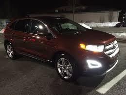 ford edge crossover the ford edge a rare stylish midsize crossover wtop