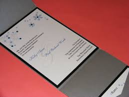 wedding invitations red and silver winter wedding invitations the classic invitation u0027s weblog