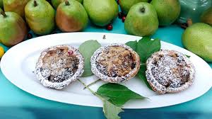 emeril u0027s pear and cranberry tartlets recipe abc news