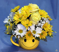 Smiley Face Vase Oh Happy Day By Atkins