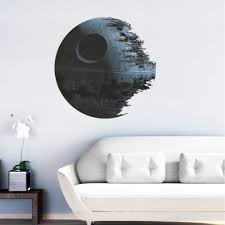 star wars wall sticker picture more detailed picture about death star artwork star wars wall sticker for kids boys rooms decal removable wallpaper home