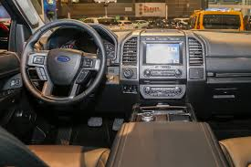 Ford Expedition Interior Lights 2018 Ford Expedition First Look Review Bigger But Lighter
