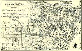 bucks county map explorepahistory com image