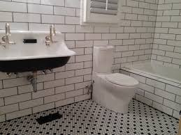 drop gorgeousy tile bathroom dark floor ideas gray to ceiling