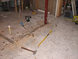 can i install tiles directly over a concrete floor in my basement
