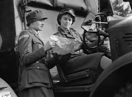 car service driver file a trainee driver from the auxiliary territorial service ats