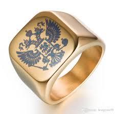big fashion rings images Fashion rings square big width signet rings stainless steel man jpg