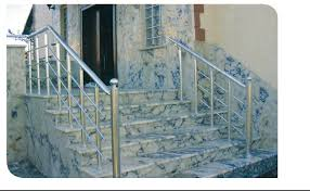 outdoor aluminum stainless steel removable stair railings handrail