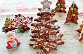 foodista amazing gingerbread star tree