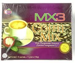 Coffee Mix mx3 coffee mix with mangosteen exocarp 10sachets 100g filstop