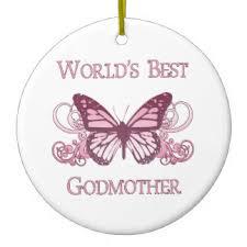 worlds best godmother ornaments keepsake ornaments zazzle