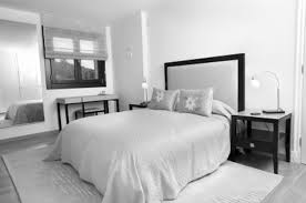 White Or Black Bedroom Furniture White Bed Black Furniture I Love This Color Scheme Awesome Silver