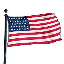 Union Flags Us 34 Star Civil War Union Flag 1861 1863