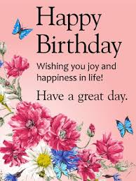 Happy Birthday Wish 18 Best Flower Birthday Cards Images On Pinterest Birthday Cards