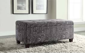 Upholstered Storage Ottoman Best Upholstered Storage Ottoman Mjl Furniture Brooklyn