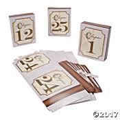 Table Numbers Wedding Wedding Table Numbers U0026 Number Holders