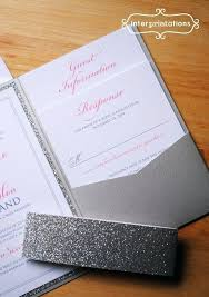 wedding invitations glitter glitter wedding invitations ryanbradley co