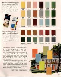 exterior colors for 1960 houses house colors paint swatches and