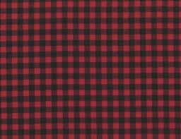 kaufman classic gingham flannel fabric cardinal