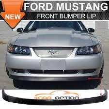 99 mustang bumper ford mustang gt svt 99 04 front bumper lip spoiler bodykit oe
