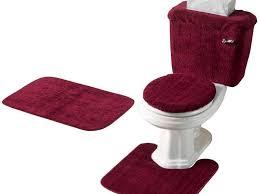 maroon bathroom rug sets 5 piece in maroon idea 3 piece bath rug