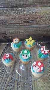 mario bros cupcakes vanilla cupcakes with vanilla buttercream
