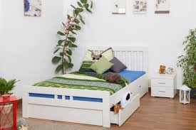 White Single Bed With Storage Single Bed Storage Bed K8