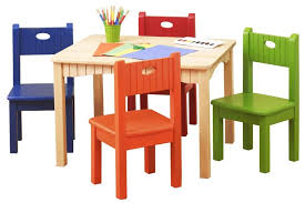 best table and chair set furniture creative children drawing table and chair sets with red
