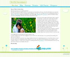 our wedding website wedding website our story tbrb info tbrb info