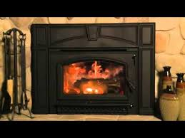 Pellet Stove Fireplace Insert Reviews by New Quadra Fire Voyageur Grand Wood Fireplace Insert Youtube