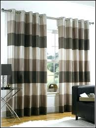 Brown Gingham Curtains Black And White Plaid Curtains Sgmun Club