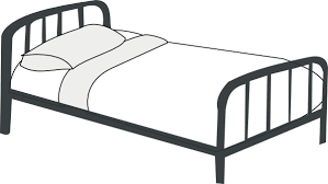 Black And White Bed Bed Clip Art Vector Clipart Panda Free Clipart Images