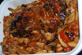 cuisiner roti de porc rôti de porc à la sauce qui tue humm a vos fourchettes
