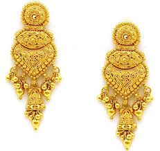 gold ear ring folklore gold earrings ornaments antique gold
