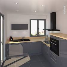 meuble cuisine gris clair meuble cuisine gris clair beau cuisine contemporaine grise maison