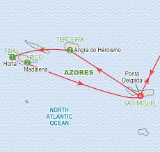 Azores Map Magical Azores Islands September 2016 Craig Travel