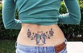 for designs photos flower butterfly tattoos design