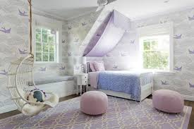 Girls Canopy Over Bed by Purple Scalloped Canopy Over Bed Transitional U0027s Room