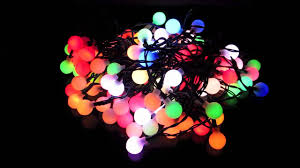 100 led bulb auto multi colour changing spheres 10m youtube