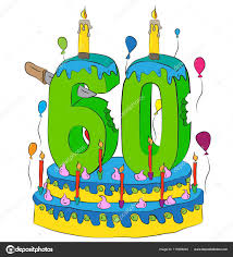celebrating 60 years birthday 60 birthday cake with number sixty candle celebrating sixtieth