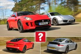 jaguar f type vs porsche 911 used porsche 911 vs jaguar f type coupe what car